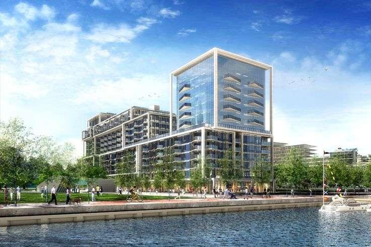 Aqualina Bayside at 223-263 Queens Quay E, Toronto, Ontario. Image 6