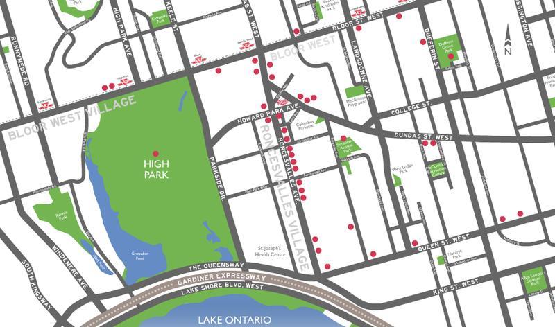 Howard Park at 24 Howard Park Ave, Toronto, Ontario. Image 2