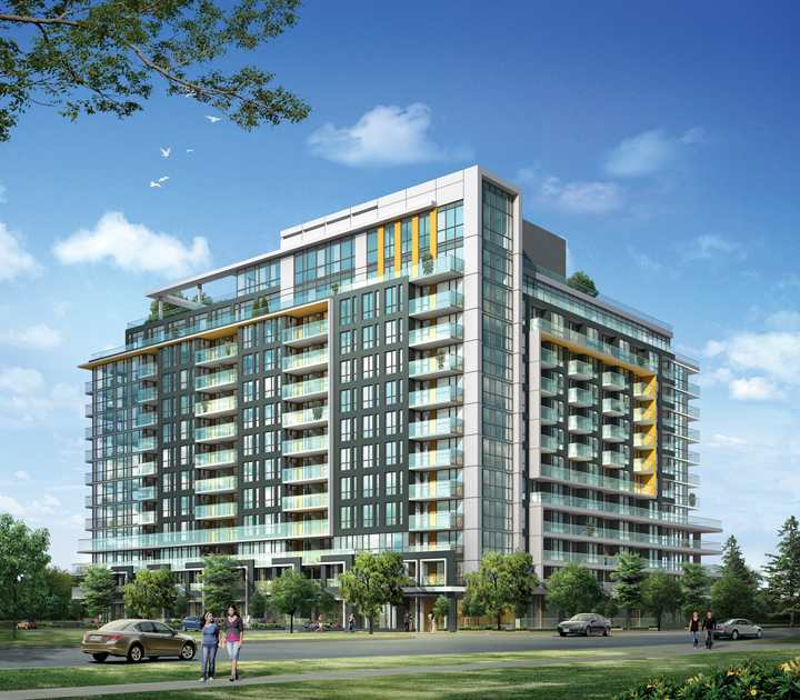Cloud9 Condominiums at 60 Esther Lorrie Dr, Toronto West, Ontario. Image 4