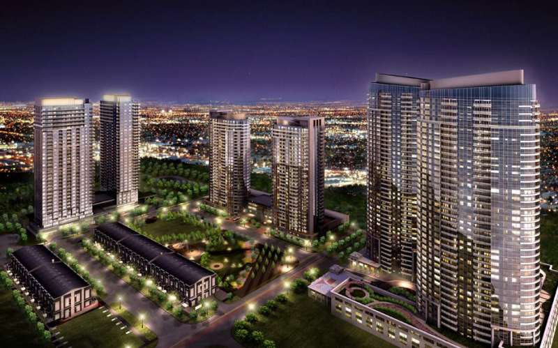 Avani at Metrogate at 52 Village Green Square, Toronto, Ontario. Image 3