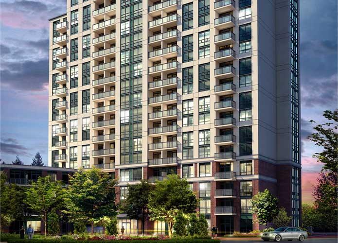 Vivid Condominiums at 1 Michael Power Place, Toronto, Ontario. Image 1