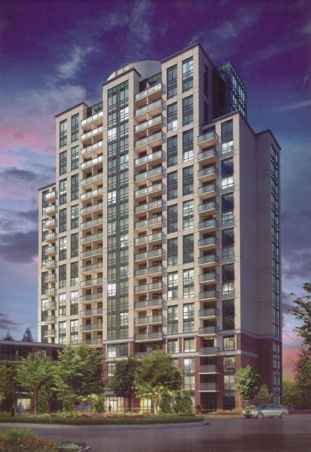Vivid Condominiums at 1 Michael Power Place, Toronto, Ontario. Image 3
