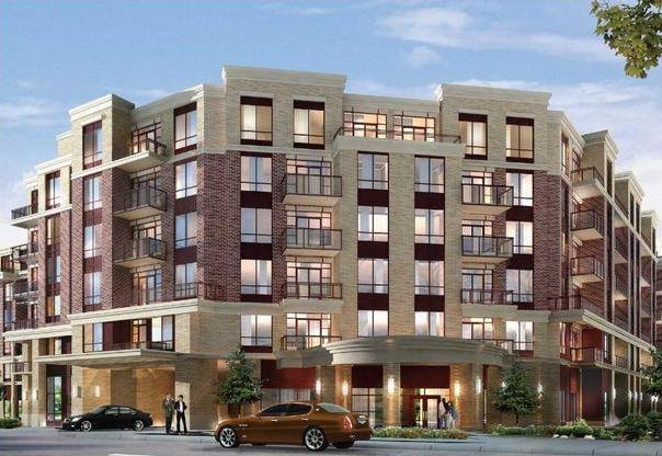 The Essential Condominiums at McCowan Rd & Bur Oak Ave, Markham, Ontario. Image 1