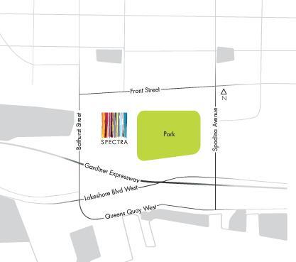 Spectra at Fort York Blvd at Dan Leckie Way, Toronto, Ontario. Image 2