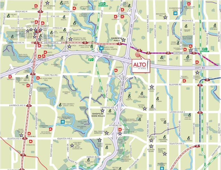 Alto at Atria at 60 Ann O'Reilly Road, Toronto Central, Ontario. Image 1