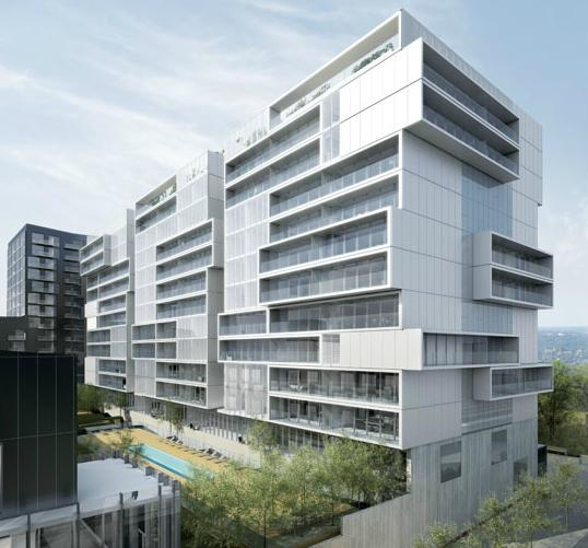 River City - Phase 2 at King Street East and River Street, Toronto, Ontario. Image 2