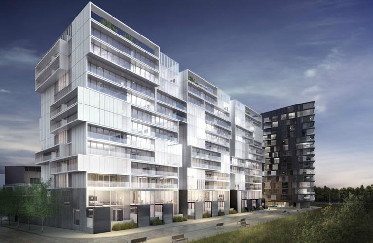 River City - Phase 2 at King Street East and River Street, Toronto, Ontario. Image 3