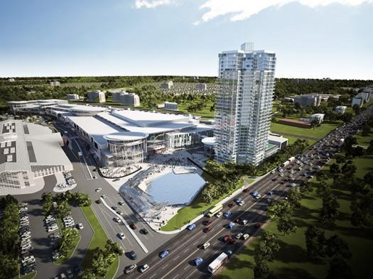 The Grand Residences at Remington Centre at 4390 Steeles Ave. E., Markham, Ontario. Image 2