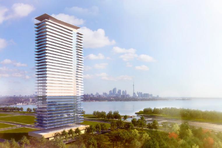 Jade Waterfront Condominiums at 2175 Lake Shore Blvd W, Toronto, Ontario. Image 1