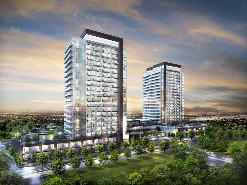 Skycity Condominiums at Yonge St At Hwy 407, Richmond Hill, Ontario. Image 5