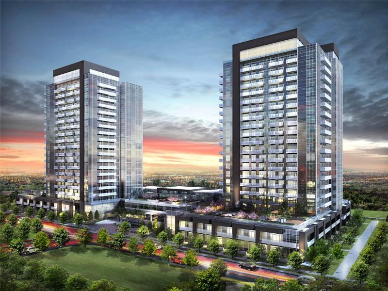Skycity Condominiums at Yonge St At Hwy 407, Richmond Hill, Ontario. Image 11