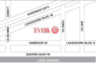 Ten York at 120 Harbour Street, Toronto, Ontario. Image 7