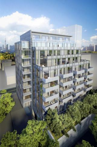 The Perry at 128 Pears Ave, Toronto, Ontario. Image 3