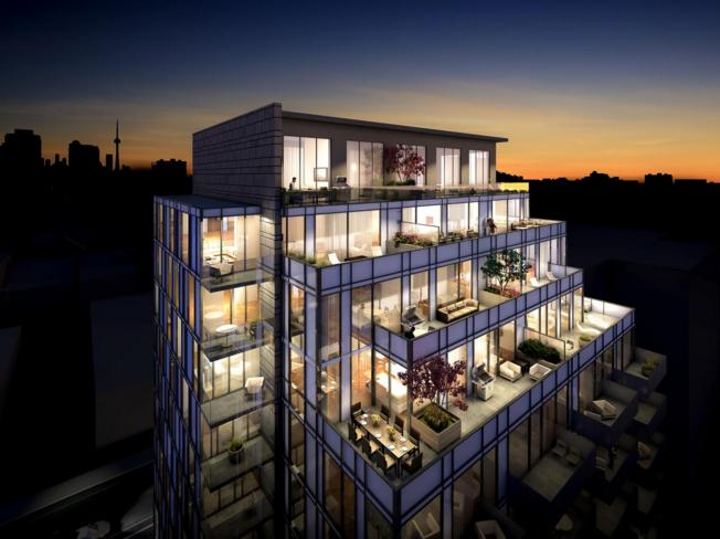 The Perry at 128 Pears Ave, Toronto, Ontario. Image 13
