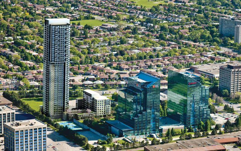 Parkside at Atria at 55 Ann O'Reilly Road, Toronto Central, Ontario. Image 1