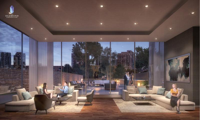 The Diamond Condominiums on Yonge at 75 Canterbury Place, Toronto, Ontario. Image 1