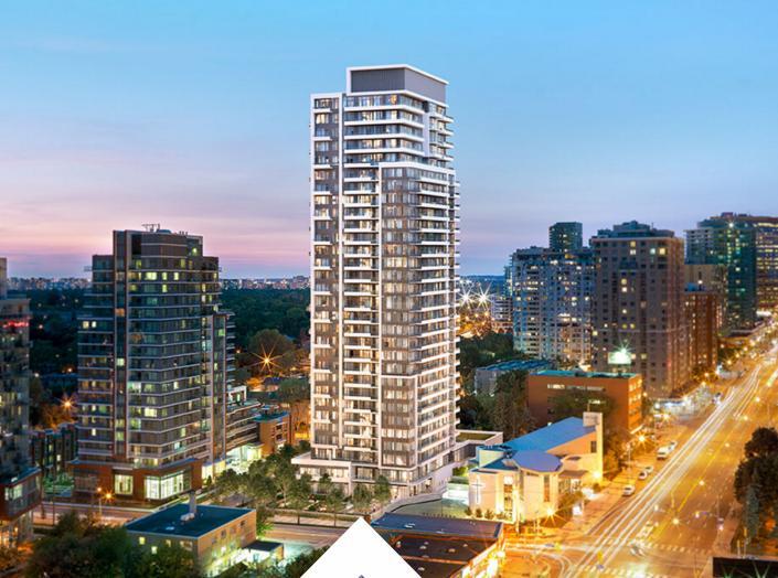 The Diamond Condominiums on Yonge at 75 Canterbury Place, Toronto, Ontario. Image 2
