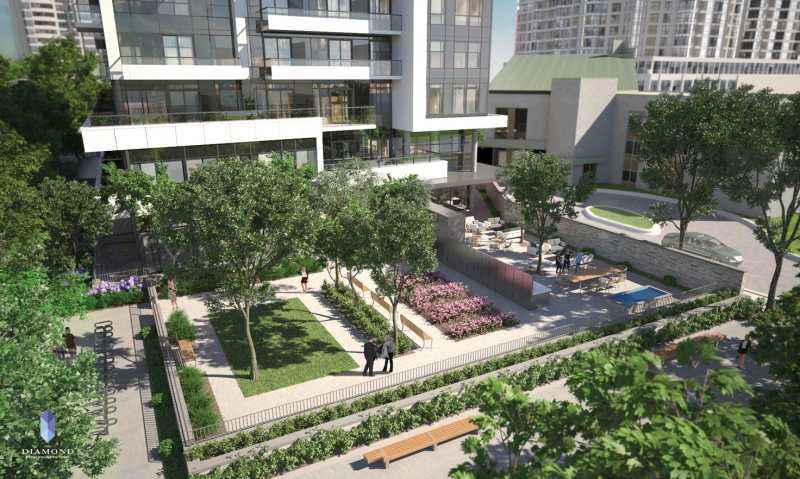 The Diamond Condominium Residences at 75 Canterbury Place, Toronto, Ontario. Image 4