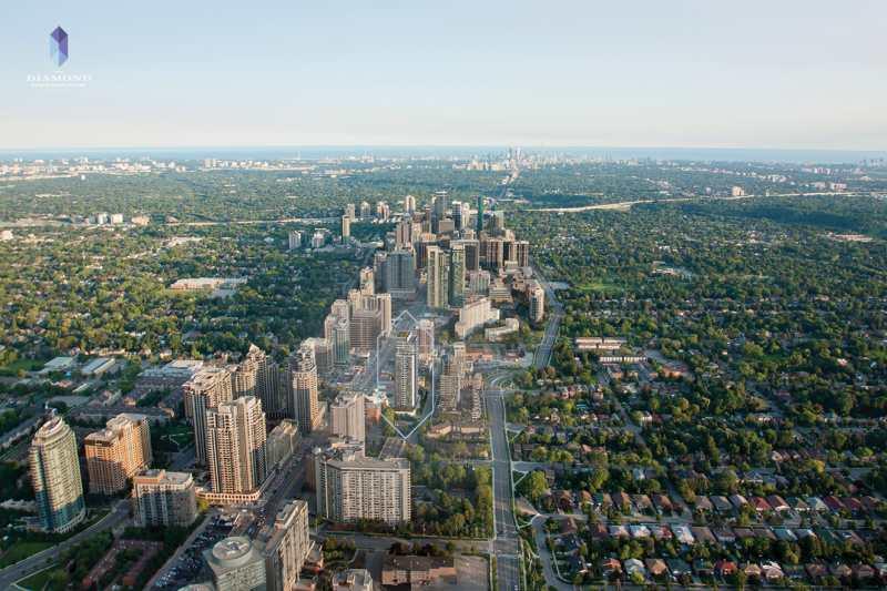 The Diamond Condominiums on Yonge at 75 Canterbury Place, Toronto, Ontario. Image 6