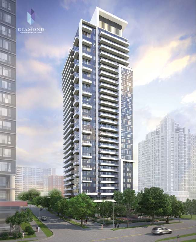 The Diamond Condominiums on Yonge at 75 Canterbury Place, Toronto, Ontario. Image 7