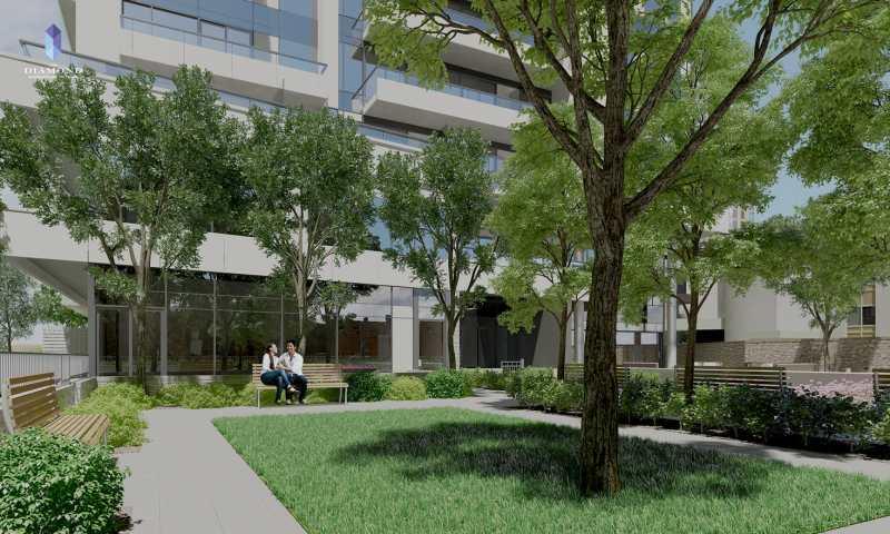 The Diamond Condominium Residences at 75 Canterbury Place, Toronto, Ontario. Image 9