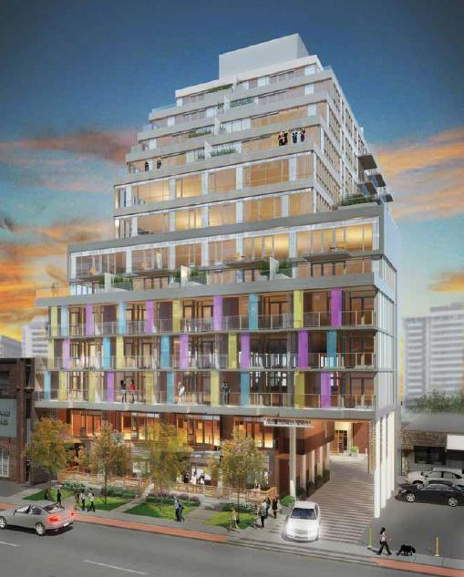 Life Condominiums at 68 Merton Street, Toronto, Ontario. Image 1