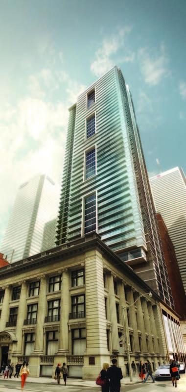 INDX Condos at 70 Temperance Street, Toronto, Ontario. Image 2