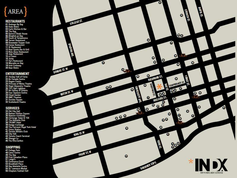 INDX Condos at 70 Temperance Street, Toronto, Ontario. Image 3