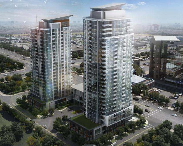 Crystal Condominiums at Pinnacle Uptown at 5044 Hurontario Street, Mississauga, Ontario. Image 1