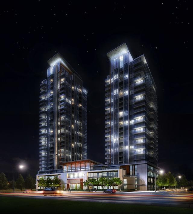 Crystal Condominiums at Pinnacle Uptown at 5044 Hurontario Street, Mississauga, Ontario. Image 2