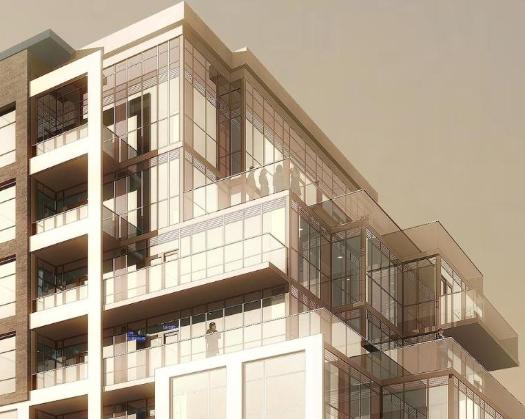 Tao Condos at Bayview Ave and Hightech Rd, Richmond Hill, Ontario. Image 2