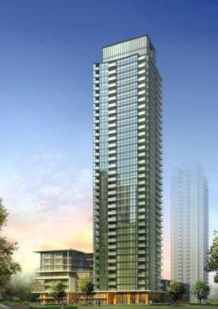 The Park Residences at Parkside Village at Burnamthorpe Rd and Confederation Pkwy, Mississauga, Ontario. Image 1
