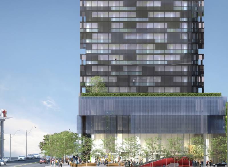 E Condos at 8 Eglinton Avenue East, Toronto, Ontario. Image 1