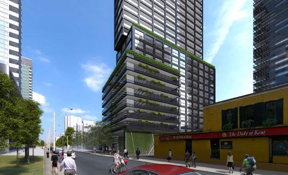 E Condos at 8 Eglinton Avenue East, Toronto, Ontario. Image 10