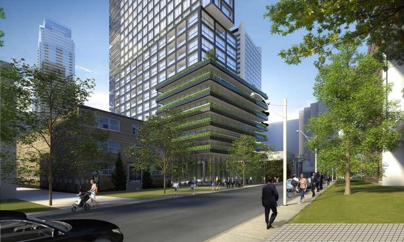 E Condos at 8 Eglinton Avenue East, Toronto, Ontario. Image 15