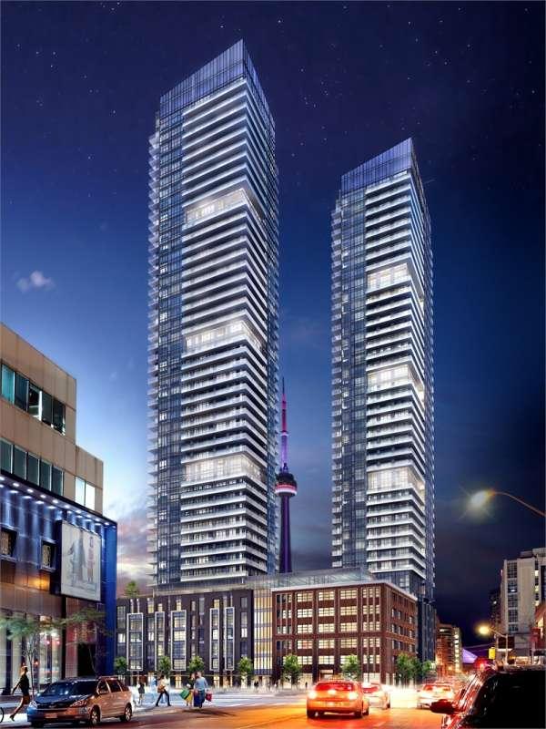 King Blue Condos at 355 King Street West, Toronto, Ontario. Image 1
