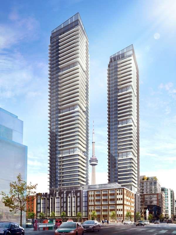King Blue Condos at 355 King Street West, Toronto, Ontario. Image 2
