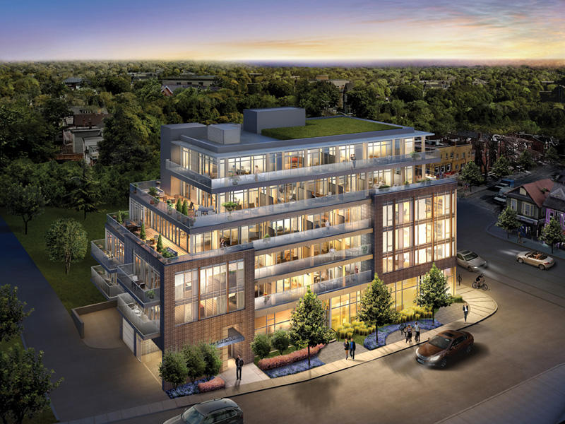 LakeHouse Condos at 1960 Queen Street East, Toronto, Ontario. Image 2