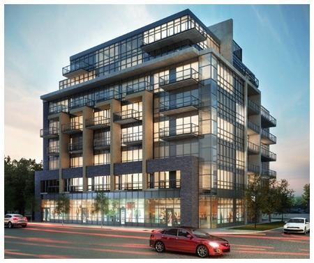 Qube Condos on Queensway at Royal York Rd & The Queensway, Toronto, Ontario. Image 1
