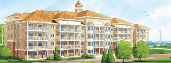 Harbourview Condominiums at 90-100 Shipway Avenue, Newcastle, Ontario. Image 1