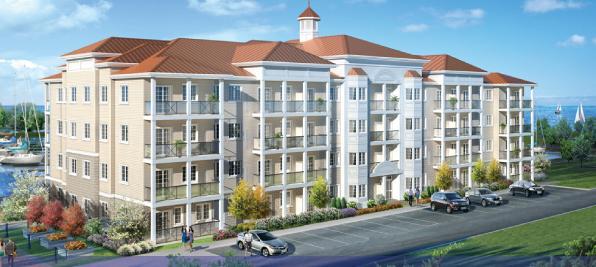 Harbourview Condominiums at 90-100 Shipway Avenue, Newcastle, Ontario. Image 2