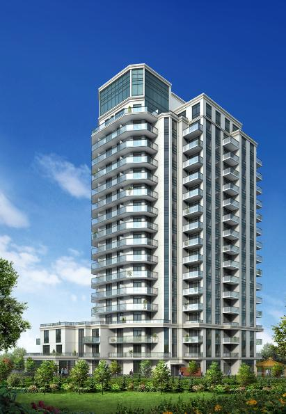 The Lexington Condominium Residences by the Park at 840 Queens Plate Drive, Toronto, Ontario. Image 3