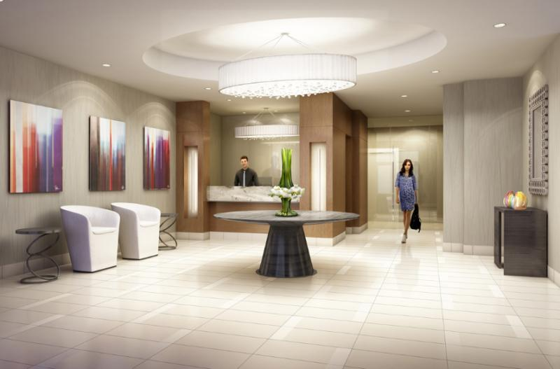 The Lexington Condominium Residences by the Park at 840 Queens Plate Drive, Toronto, Ontario. Image 5