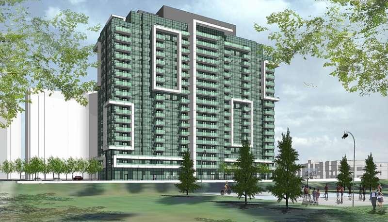 Danforth Village Estates at Danforth Road  and Eglinton Ave E, Toronto, Ontario. Image 1