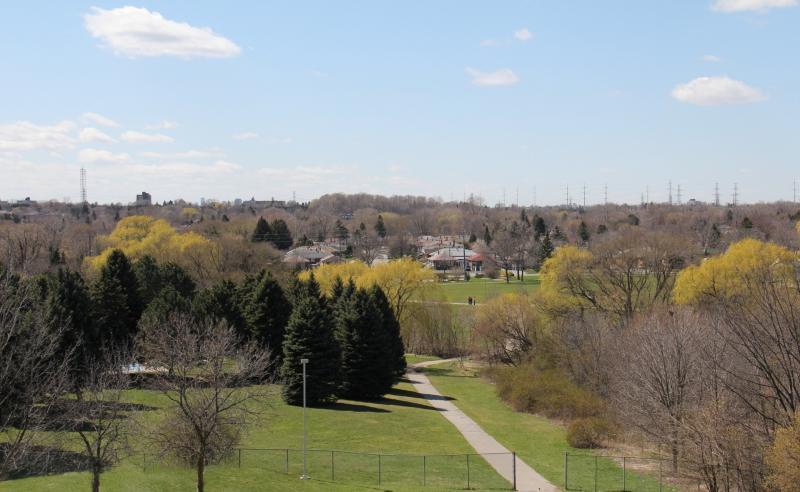 Danforth Village Estates at Danforth Road  and Eglinton Ave E, Toronto, Ontario. Image 2