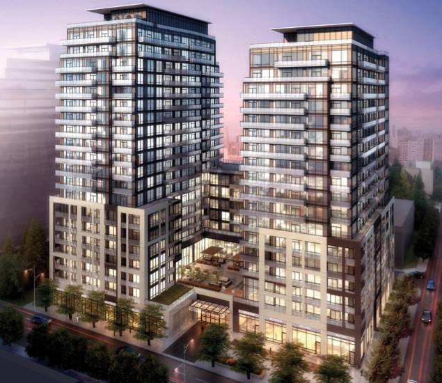 Axiom Condos at 424 Adelaide St E, Toronto, Ontario. Image 3