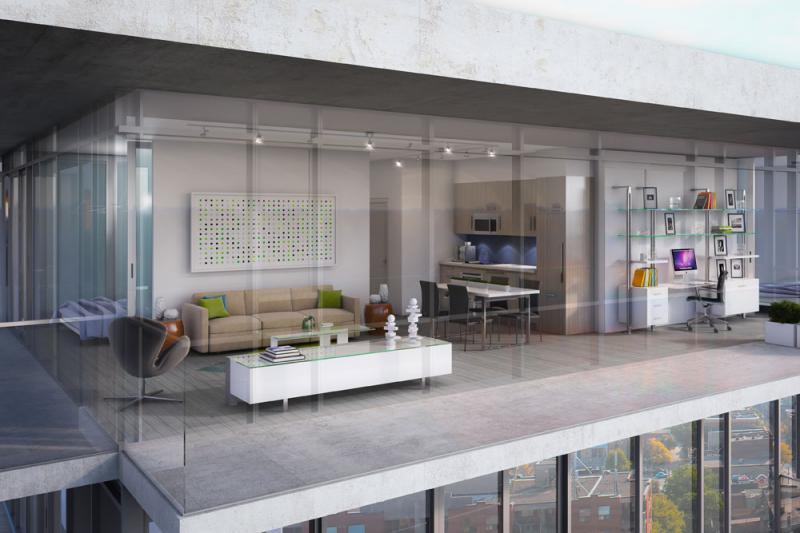 The College Condominium at Spadina at 297 College Street, Toronto, Ontario. Image 6