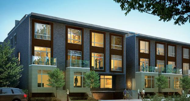East Village Leslieville at 1321 Gerrard St East, Toronto, Ontario. Image 2