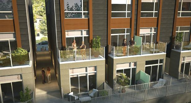 East Village Leslieville at 1321 Gerrard St East, Toronto, Ontario. Image 3