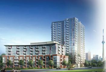 Westside Lofts at 150 Sudbury Street, Toronto, Ontario. Image 1